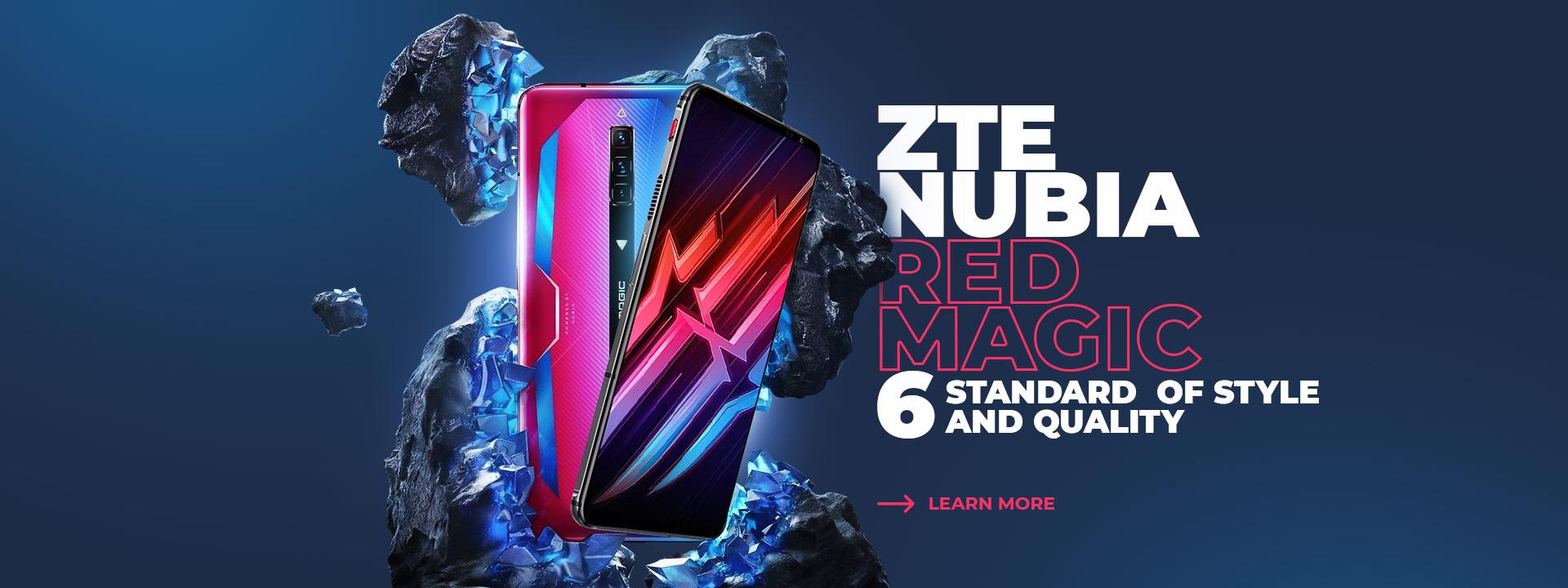 Buy a nubia smartphone